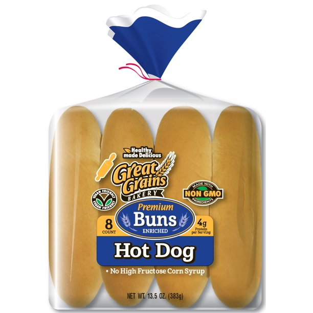Wonder Extra Soft Classic Enriched Hot Dog Buns 8 CT