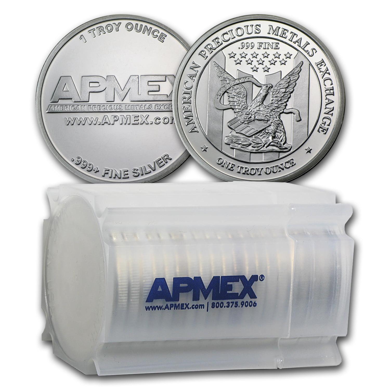 1 Oz Apmex Silver Round 999 Fine Lot