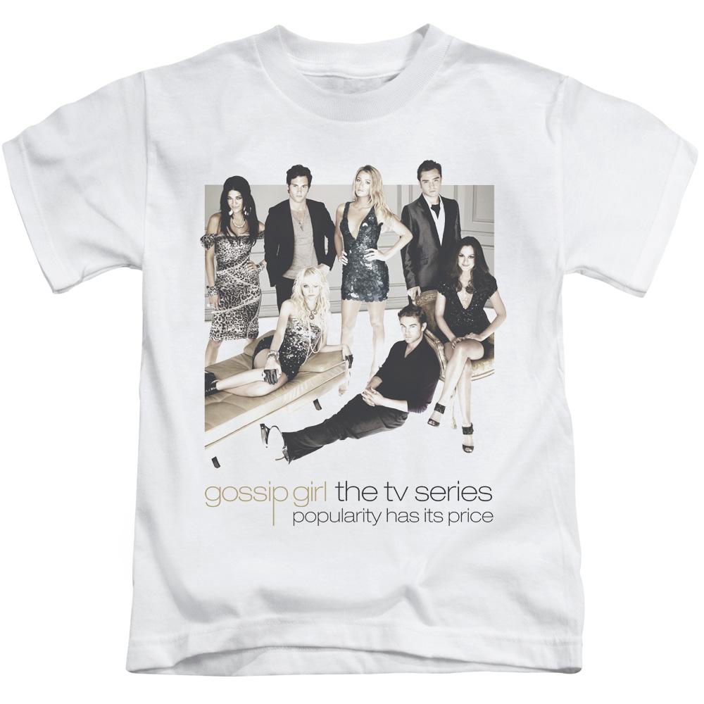 Gossip Girl Teen Drama Nyc TV Series Cw Sitting Around Little Boys T-Shirt Tee