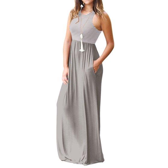 0aa7df39f8aa Noroomaknet - Noroomaknet Women's Maxi Dresses Summer Casual ...