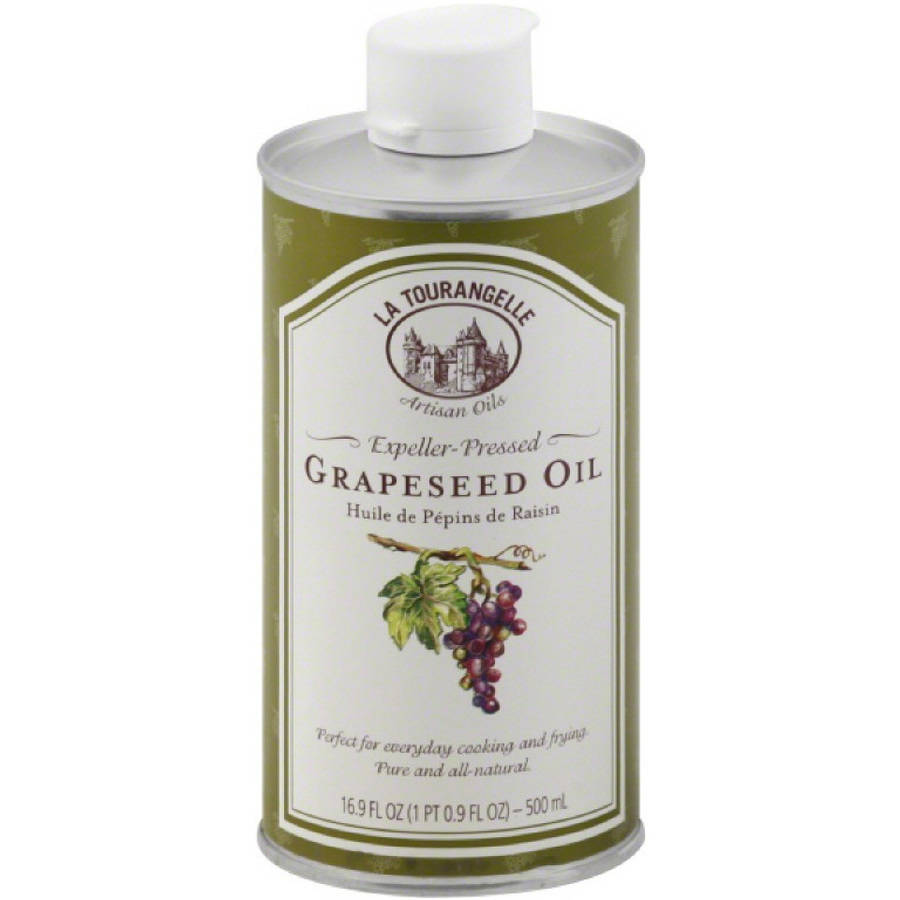 La Tourangelle Expeller-Pressed Grapeseed Oil, .5 l, (Pack of 6)