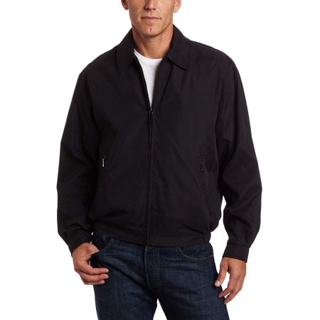 London Fog Mens Auburn Zip-Front Golf Jacket