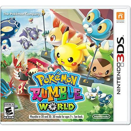 Pokemon Rumble World - Nintendo 3DS Standard