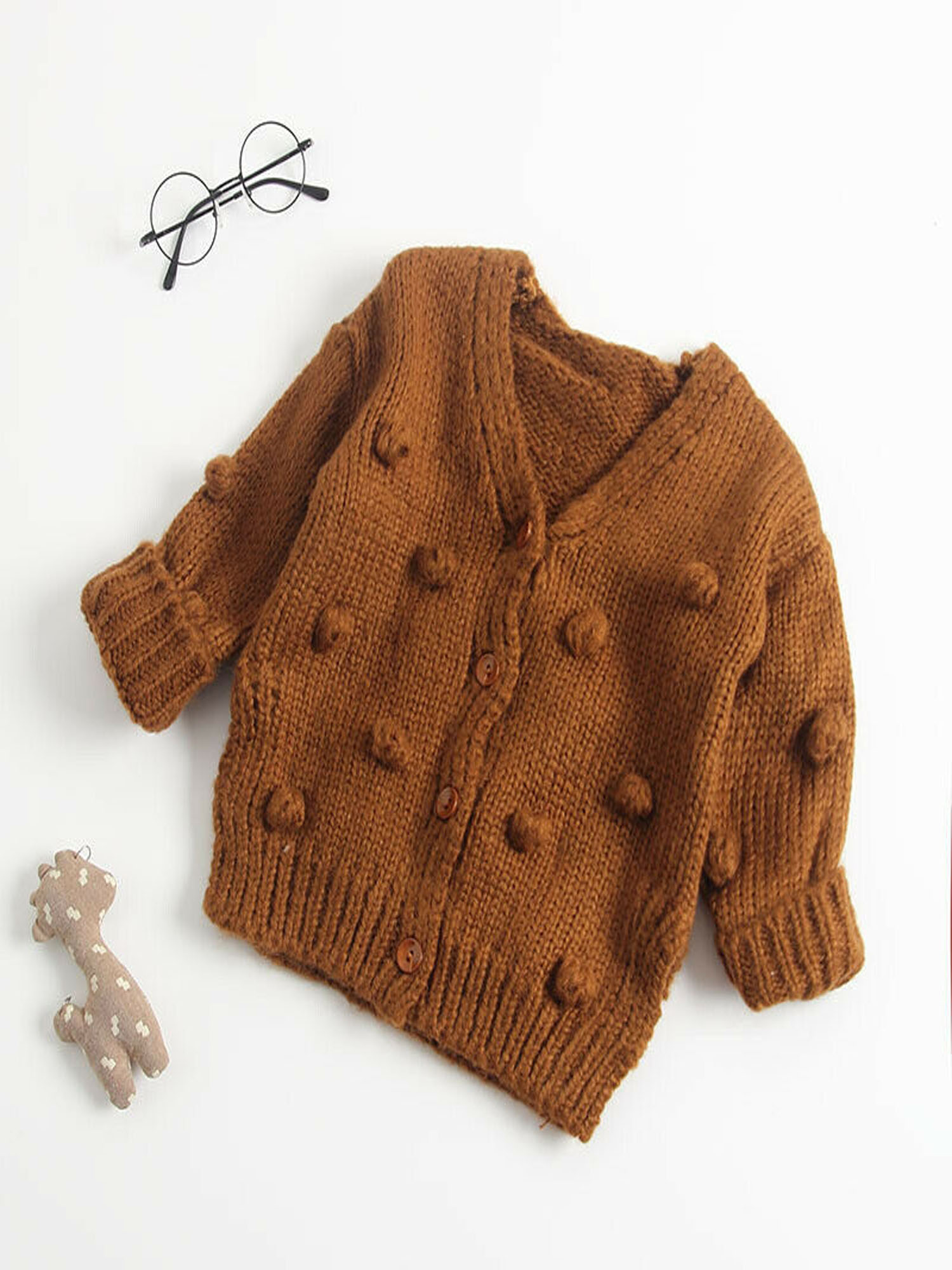 Moon and Back Unisex Baby Toddler Cardigan Sweater