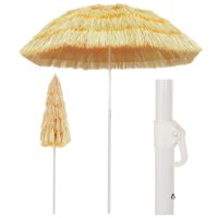 "Beach Umbrella Natural 70.9"" Hawaii Style"