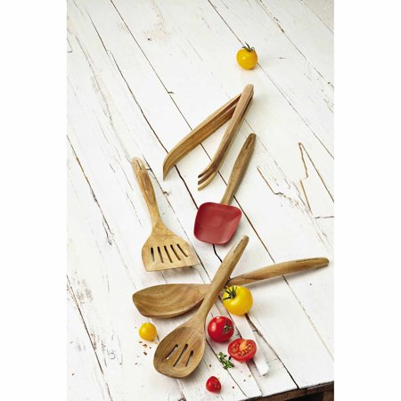 Rachael Ray Cucina Tools 5-Piece Wooden Tool Set, Red