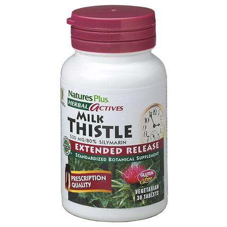 Nature's Plus - Milk Thistle E/R 500 mg tab 30