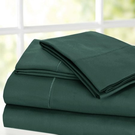 1000 Thread Count Luxury Egyptian Cotton Rich Sateen Sheet Set, 4pc