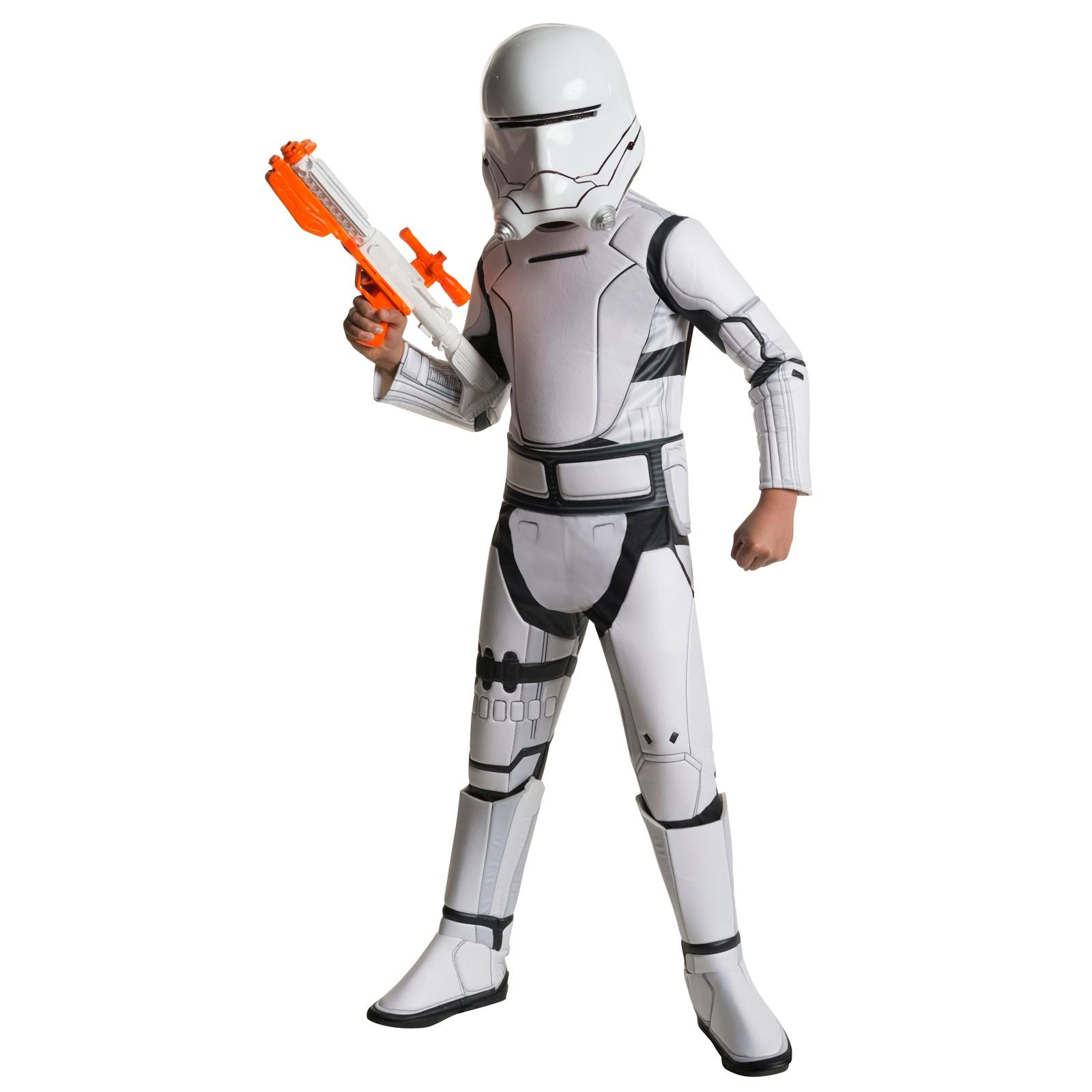 Star Wars Episode VII Boysu0027 Flame Trooper Super Deluxe Child Halloween  Costume