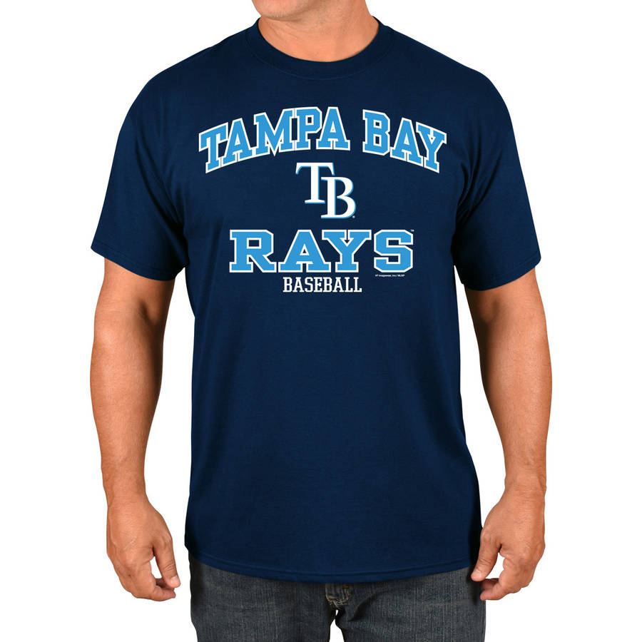 MLB Tampa Rays Big Men's Basic Tee