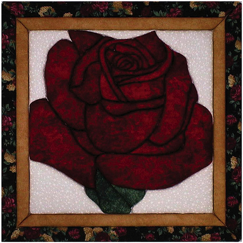 Lone Rose Quilt Magic Kit