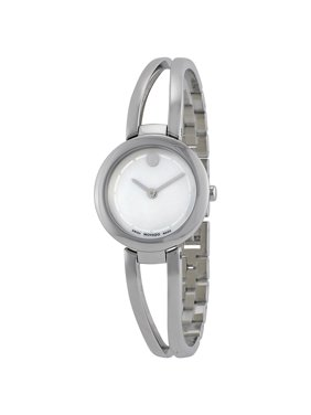 Movado Amorosa Duo Mother of Pearl Dial Stainless Steel Ladies Watch 0606812
