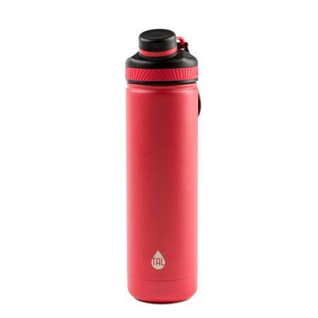 Tal 26 Ounce Coral Double Wall Vacuum Insulated Stainless Steel Ranger Pro Water Bottle