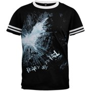 Batman - Dark Knight Fear Ringer T-Shirt - Large