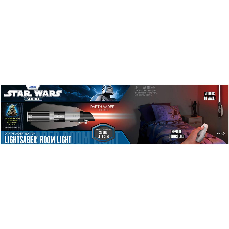 Uncle Milton Star Wars Science Darth Vader Lightsaber Room Light