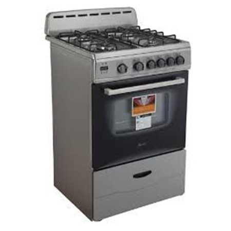 Avanti GR2416CSSA 24 in. Stainless Freestanding Gas Range Sealed Burners ()