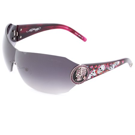 Ed Hardy EHS-042 Catcher Sunglasses - Amethyst