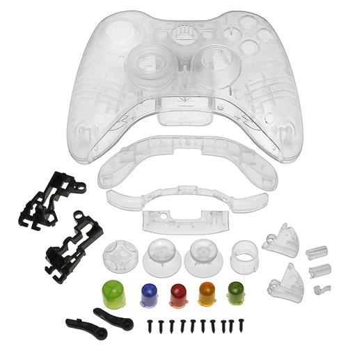 INSTEN Crystal Shell For Microsoft Xbox 360 Wireless Controller , Clear