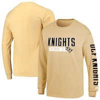 Men's Russell Athletic Gold UCF Knights Hit Long Sleeve T-Shirt