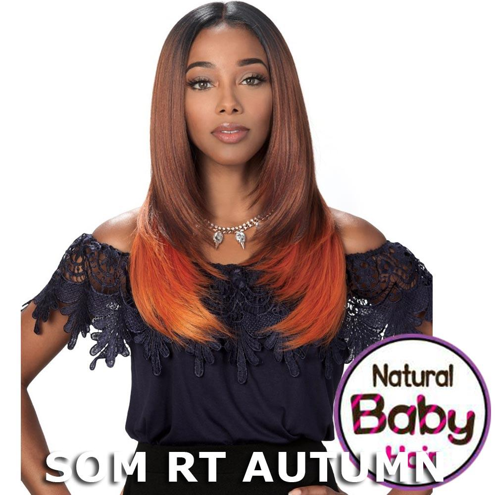 """Sis Slay Natural Deep """"I""""-Part Lace Front Wig - ERIS (Som RT Autumn)"""