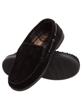 6ae73fb1c0fc Product Image heat edge mens memory foam suede slip on indoor outdoor  venetian moccasin slipper shoe. Reduced Price