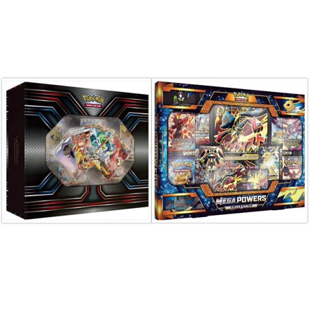 Pokemon TCG The Best of XY Premium Trainer Collection Box and Mega Powers Premium Collection Box Card Game Bundle, 1 of (Best Stock Trading Game)