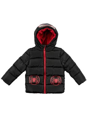 Spider-Man Toddler Boy Costume Winter Jacket Coat