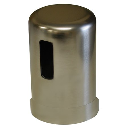 - Brushed Nickel Air Gap Cover,PartNo A10018 JonesStephens