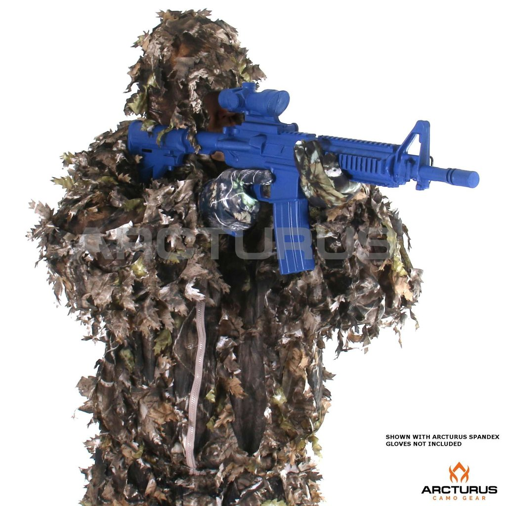 Arcturus 3D Leafy Ghillie Suit by Arcturus Camo (Dark Woodland, ML) by Arcturus Camo