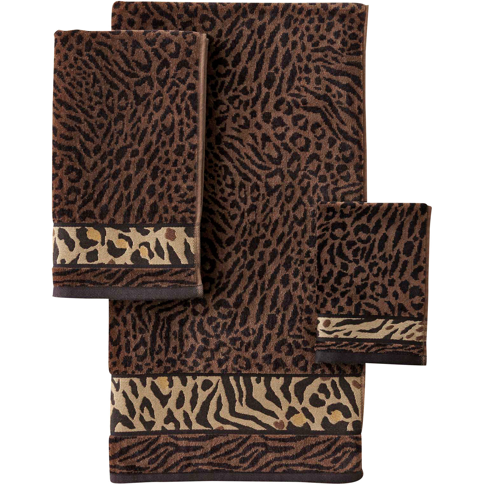 Better Homes and Gardens Animal Decorative Bath Towel Collection