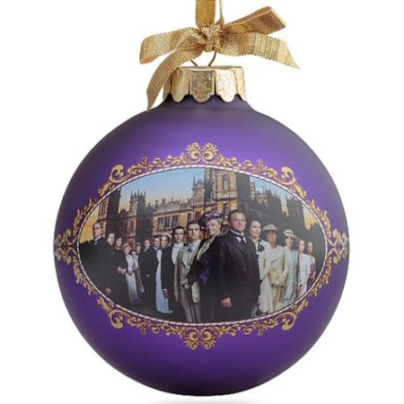 Season One Ball Ornament, 90mm, Officially licensed Downtown Abbey holiday merchandise By Downton Abbey