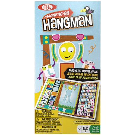 Magnetic Go Hangman- - A Halloween Hangman Game