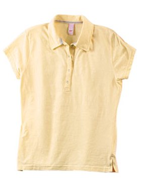 Hyp HY101 Laguna Cotton Jersey Snap Placket Polo.