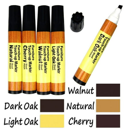 Stein Wood Furniture - 1 X 5-Color Wood Floor Furniture & Woodwork Scratch Cover Touch-Up Pens