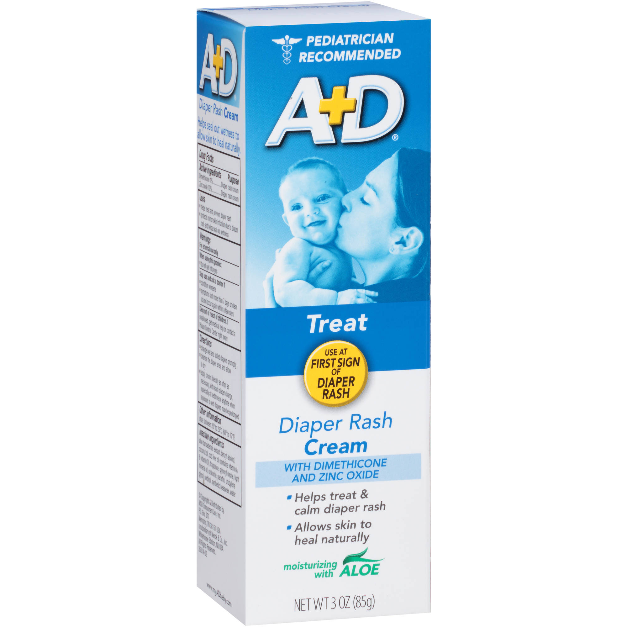 A+D Diaper Rash Cream, 3 oz