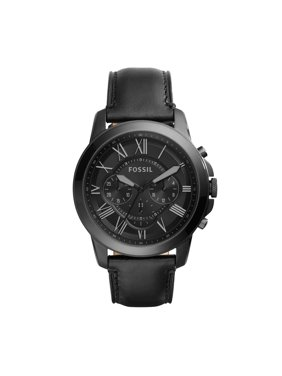 b58ce82d9bcc Product Image Men s Grant Chronograph Black Leather Watch (Style   FS5132IE). Product TitleFossilMen s ...