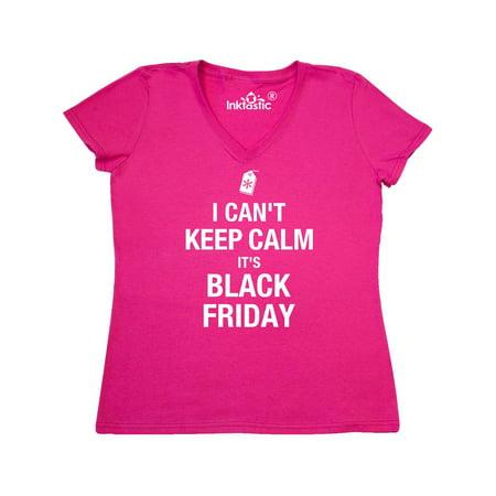 Keep Calm Black Friday Women's V-Neck T-Shirt