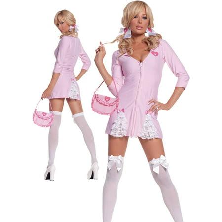 Striper Costumes (Cute Kandi Striper Women's Adult Halloween)