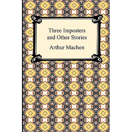 Three Imposters and Other Stories (Impostor Poster)