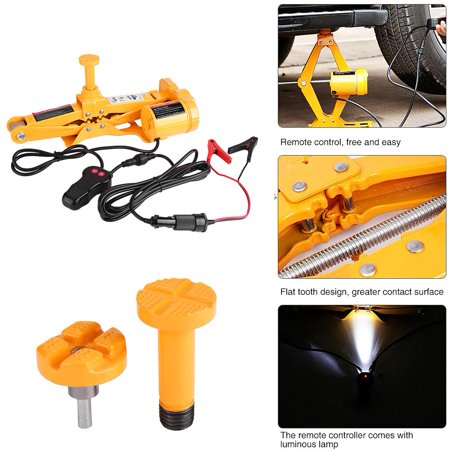 Back To Search Resultstools 3ton 12v Dc Automotive Electric Jack Lifting Car Suv Emergency Tools W/ Impact Wrench With Gloves Socket Adapter Screwdriver Kit