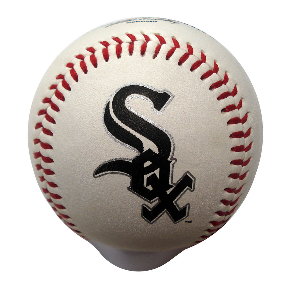 Blank Leather MLB Team Logo Baseballs - Chicago Wh