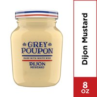 Grey Poupon Dijon Mustard, 8.0 oz Jar