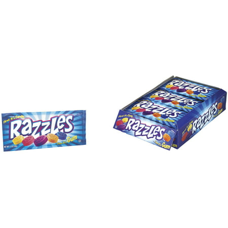Concord Brands, Original Pouch Razzles Candy, 1.4 Oz, 24 Ct](Candy Brands)