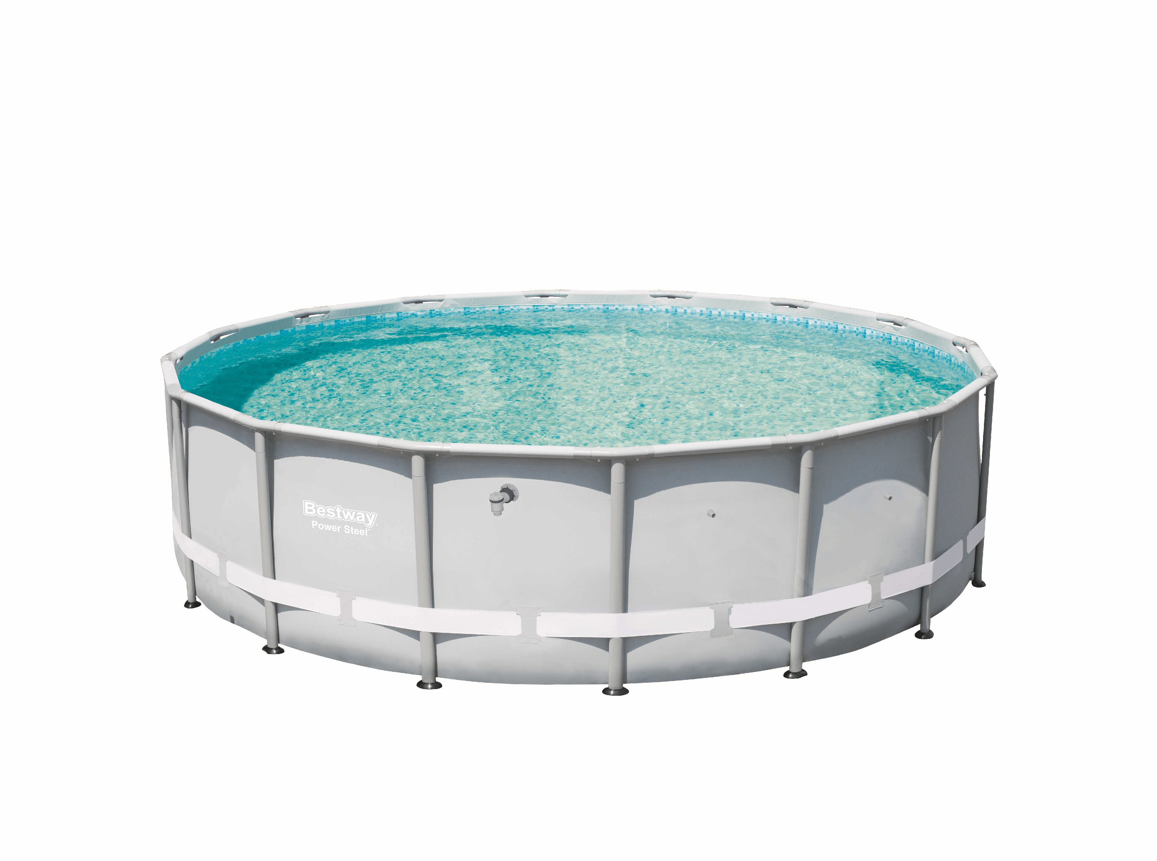 "Bestway 16' x 48"" Power Steel Pro Frame Above Ground Swimming Pool 