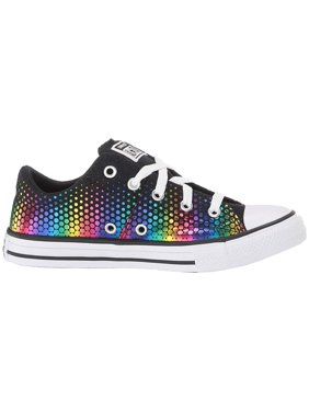 Converse Kids Chuck Taylor All Star Madison Kaleidoscope - Ox (Little Kid/Big Kid) Black/Multi/White