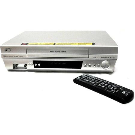 JVC HR-J4020UB VHS 4 HEAD VCR Player (Refurbished) (Jvc Hr Vcr)