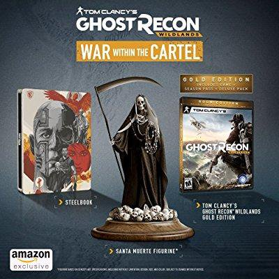 Tom Clancy's Ghost Recon Wildlands War Within the Cartel Bundle – Edition: PlayStation (Ghost Recon Wildlands War Within The Cartel)