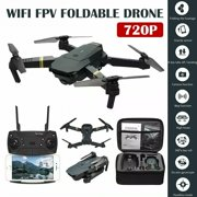 Mini Drone X Pro Foldable Quadcopter 2.4G WIFI FPV With 1080P HD Camera RC Quadcopter Gift Toy Black For Boys and Girls (720p)