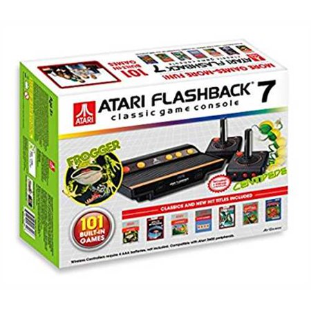 Refurbished atari flashback 7 classic game console with 2 controllers - Atari flashback 3 classic game console ...