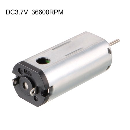 DC Motor 3.7V 36600RPM Electric Micro Motor Round Shaft for Boat Toys Model - image 1 of 4